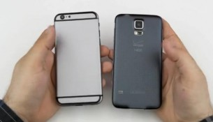 L'iPhone 6 comparé au Samsung Galaxy S5
