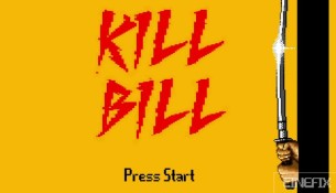 Kill Bill volume 1 et 2 en version 8 bits
