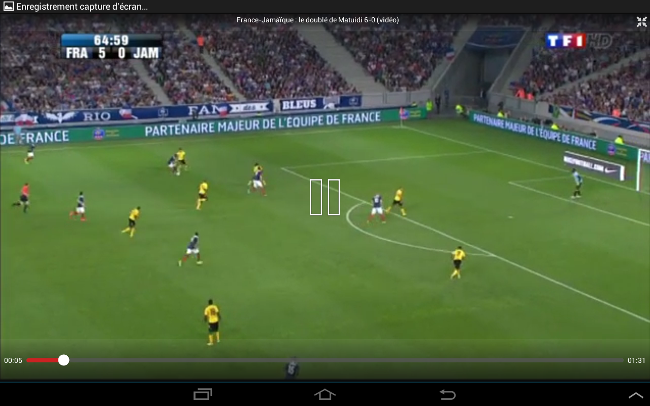 Foot Direct Streaming