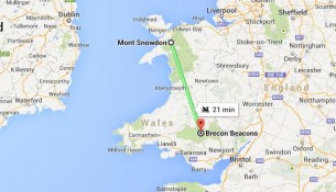 Google Map propose un trajet en Dragon en Angleterre
