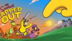 Les Simpsons se mettent à Clash of Clans