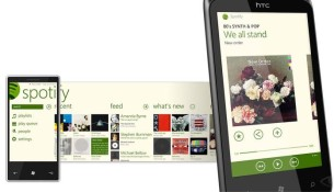 L'application de Streaming Spotify sur Windows Phone