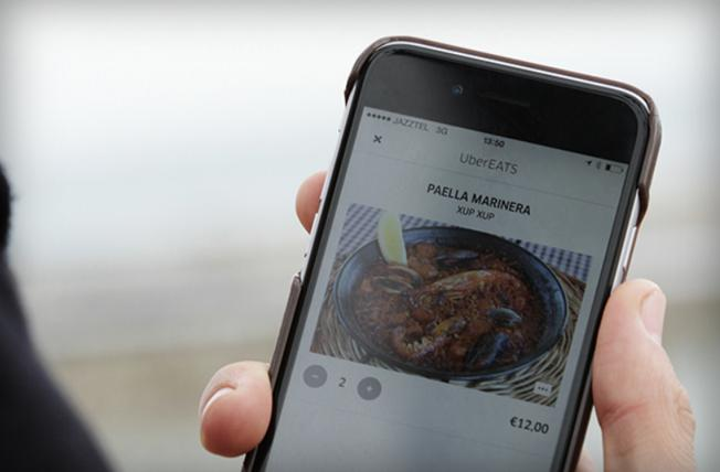 L'application Ubereats